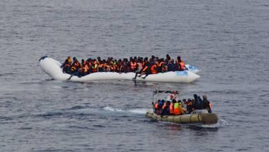 قوارب لمهاجريين غير قانونيين - ارشيفية