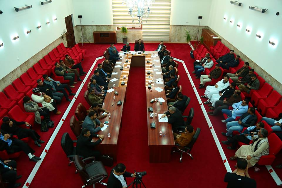مجلس البيضاء البلدي يُنَاظر المواطنين