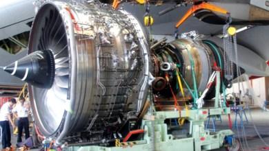 محرك طائرة إيرباص