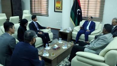 كاجمان يجتمع مع سفير كوريا الجنوبية