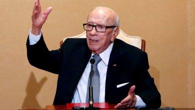 رئيس الجمهورية التونسية الباجي قائد السبسي