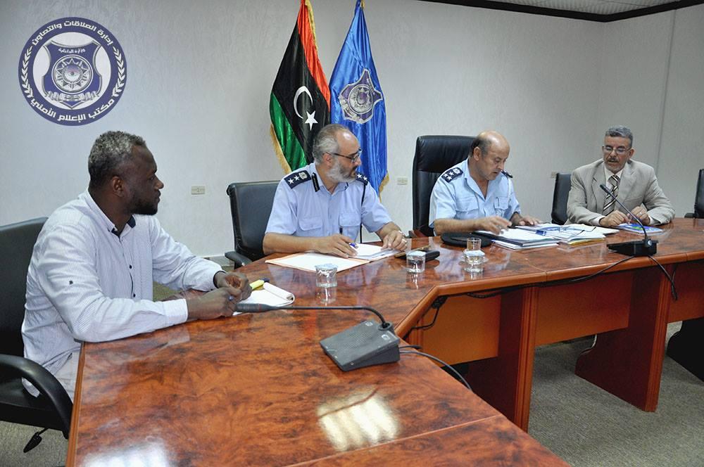 اللجنة المُكلفة بإخلاء عقارات وأراضي المواطنين المُستخدمة كمقرات لوزارة الداخلية