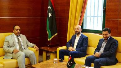 لقاء وزير الصحة الليبي مع مستشار رئيس وزراء مالطا