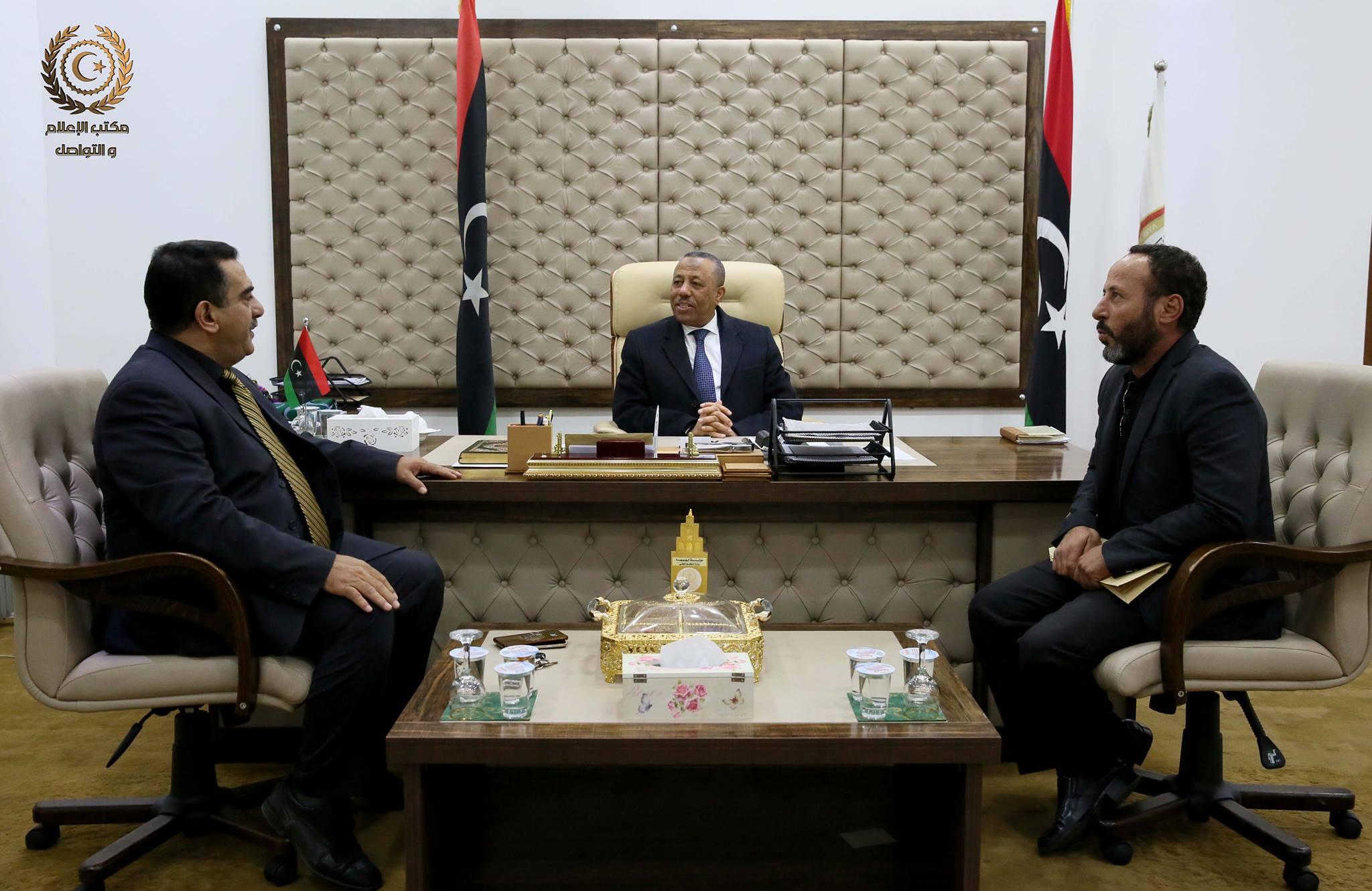 الثني يبحث احتياجات بنغازي والمرج