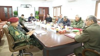 اجتماع الغرفة الامنية بنغازي