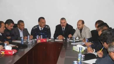 مدير أمن الجفارة يبحث تنسيق عمل الدوائر الأمنية