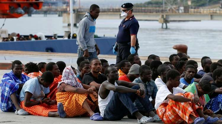 مراكز طرد المُهاجرين