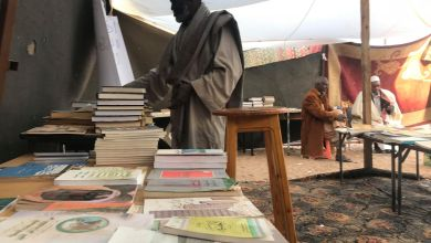 القطرون تنتصر للكتاب وتقيم معرضها الأول