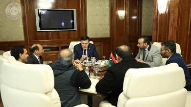 اجتماع فائز السراج مع وكيل وزارة الصحة د. محمد الهيثم