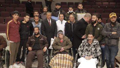 الثني يتفقد جرحى الجيش - القاهرة