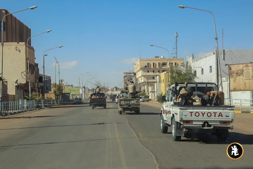 الجيش الوطني - جنوب ليبيا