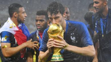 اللاعب الفرنسي بنجامين بافارد