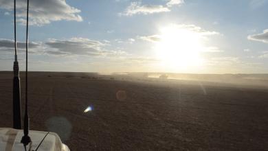 دوريات استطلاعية لسرية مرادة المقاتلة - راس لانوف