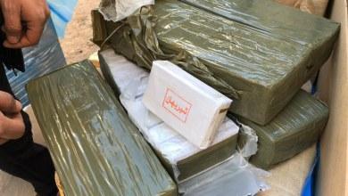 ضبط كمية كبيرة من المخدرات - مصراتة