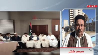 عضوالمجلس الاجتماعي لقبائل ورفلة محمد شفتر