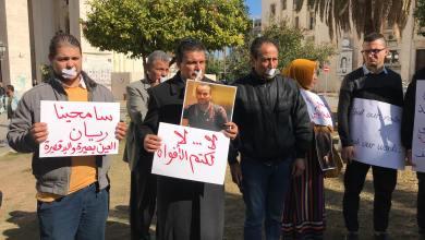 صحفيّون غاضبون يحتجون في طرابلس