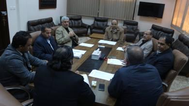 اجتماع عمران بوجواري مع ناجي المعداني