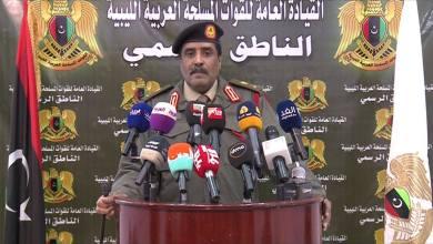المتحدث باسم الجيش الوطني اللواء أحمد المسماري