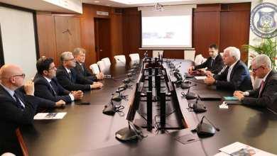 باشاغا يبحث مع إدارة ليوناردو تعزيز العلاقات الأمنية