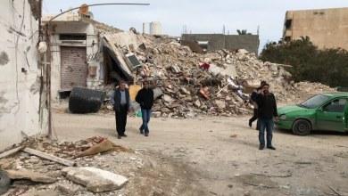 لجنة حصر الأضرار التابعة للهيئة العامة للإسكان والمرافق - درنة
