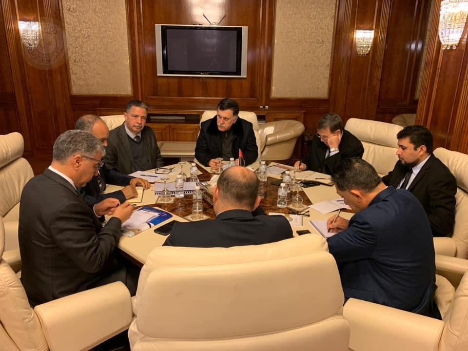 الاجتماع الأول العادي للجمعية العمومية للشركة الليبية للبريد والاتصالات وتقنية المعلومات القابضة