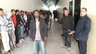 المُهاجرين غير القانونيين في بنغازي