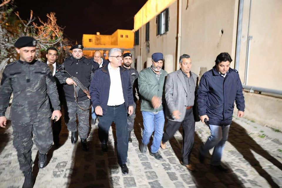 باشاغا يتفقد العمل الأمني في طرابلس
