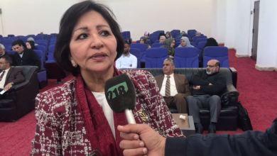 """""""نجيبة إستيتة""""مديرة إدارة التعليم المبكر بالحكومة الليبية المؤقتة"""
