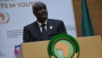 رئيس مفوضية الاتحاد الأفريقي موسى فكي