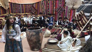 معرض تراثي ضمن محفل الفرح لكلية التربية بجامعة الزنتان