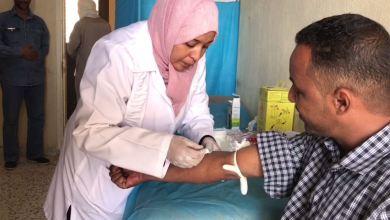 حملة صحية في أوباري لقياس الضغط والسكري