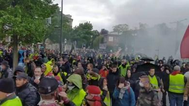 احتجاجات السترات الصفراء - ستراسبورج