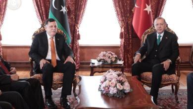 أردوغان للسراج: سندعمكم لمنع دخول الجيش إلى طرابلس