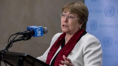 مفوضة الأمم المتحدة السامية لحقوق الإنسان، ميشيل باشيليت
