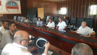 اجتماع بلدية سبها - قاعة المجلس البلدي سبها