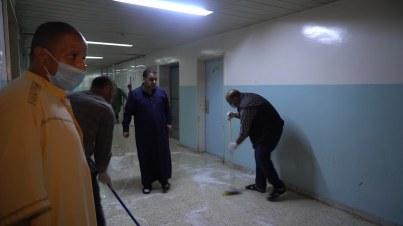 حملة نظافة بمستشفى ترهونة العام - ترهونة.mp4_snapshot_01.10_[2019.06.05_21.29.42]