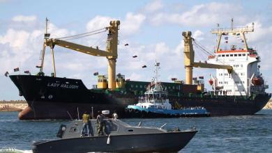 """ميناء بنغازي البحري - """"أرشيفية"""""""