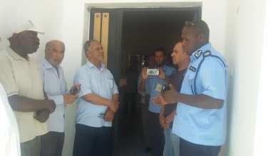أعضاء منسقية هون للعمل الأهلي يزورون سجن المدينة