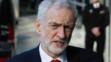 زعيم حزب العمال المعارض في بريطانيا جيريمي كوربين