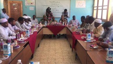 مراسم تسليم مدرسة المجد في الغريفة وتحويلها إلى كلية للهندسة التقنية