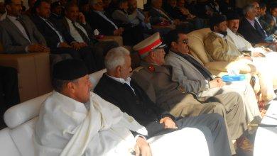 مجلس مشائخ ترهونة يُجدّد دعمه للجيش الوطني