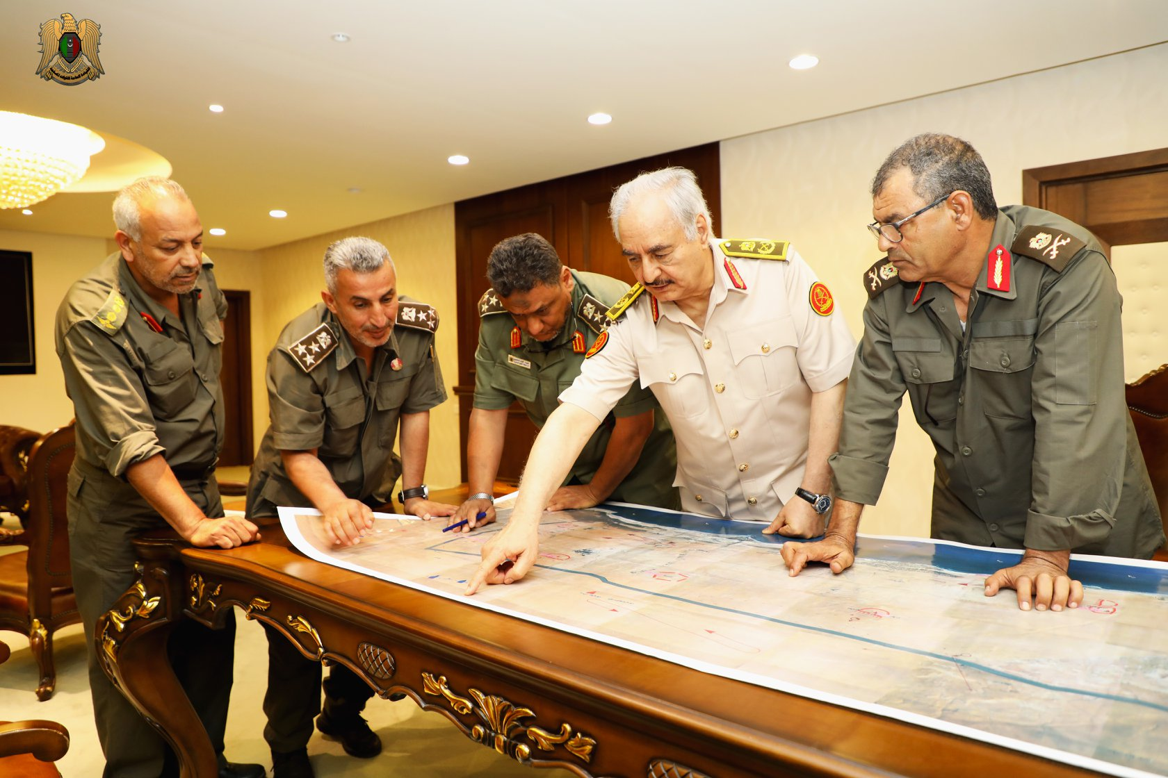 القيادة العامة للجيش الوطني- صورة إرشيفية