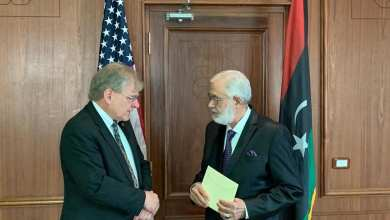 الوفاق تعتمد أوراق السفير الأمريكي لدى ليبيا في العاصمة التونسية