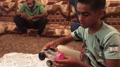 """""""المخترع الصغير"""" محمد الشحومي من زلطن"""