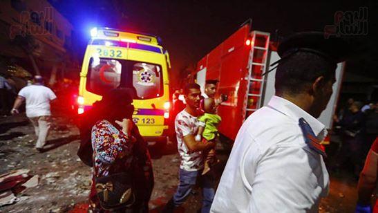 انفجار أمام المعهد القومي للأورام في القاهرة يسفر عن مقتل 17 شخصاً وإصابة 32 آخرين