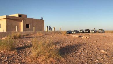 الحدود الليبية التونسية - جولة تفقدية لمديرية أمن باطن الجبل
