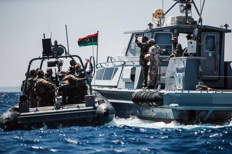 البحرية الليبية-صورة إرشيفية