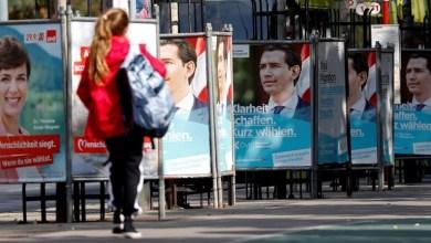 انتخابات النمسا التشريعية