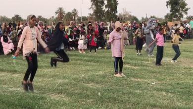 حفل ترفيهي في بلدة الغريفة لأطفال مرزق من النازحين
