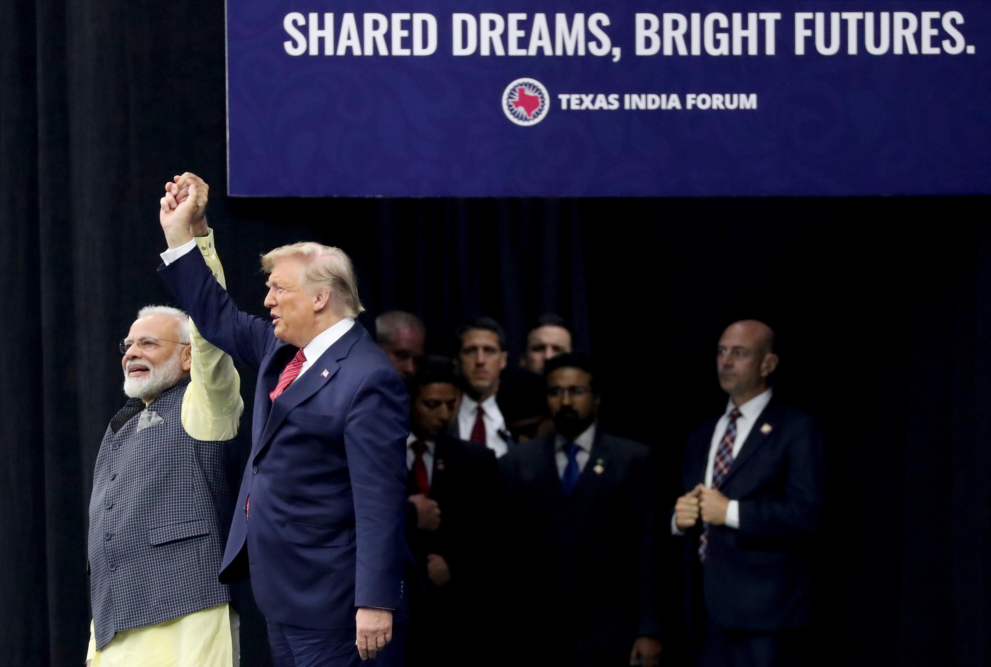 ترامب ومودي يتفقان على محاربة الإرهاب الدولي